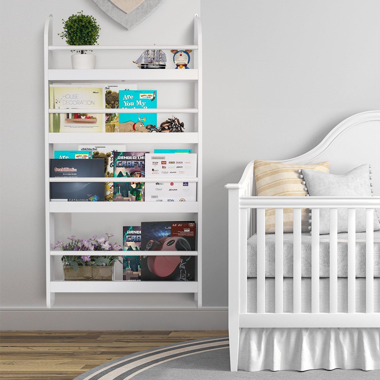 Estanterías-librerías para cuentos, libros y revistas ideal para la habitación infantil 4 modelos