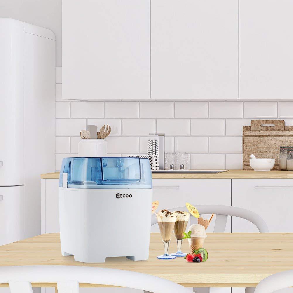 Máquina de helados con temporizador