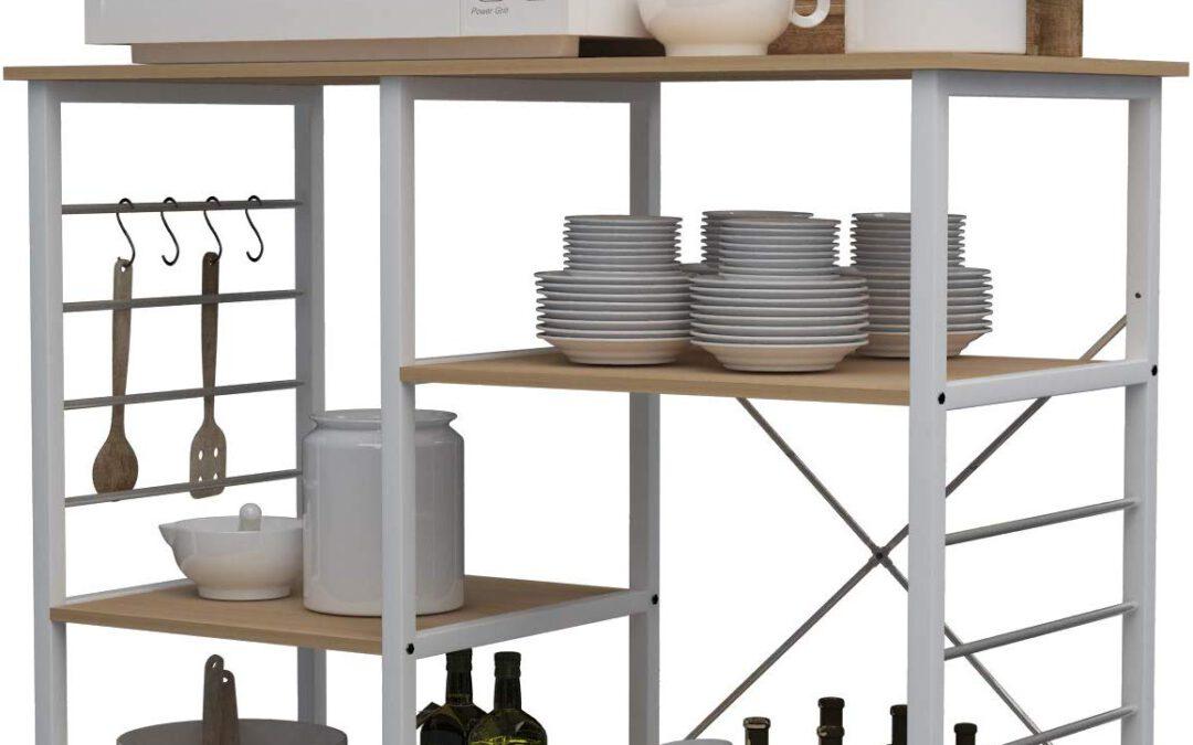 Mueble con Estantes para la Cocina