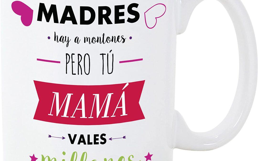 Tazas de cerámica con mensaje para mamá